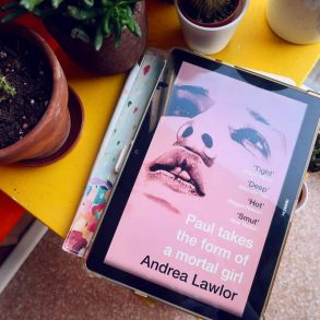 Book recommendations spring 2020 Paul Takes The Form of a Mortal Girl Andrea Lawlor CREDIT Minka Guides