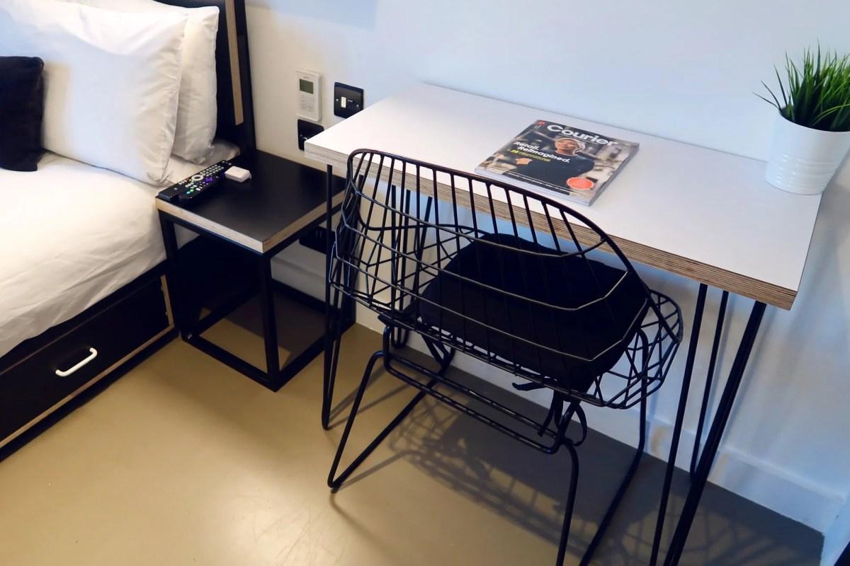 Kip Hotel Hackney @minkaguides desk
