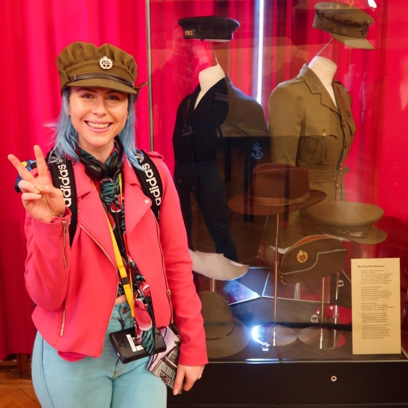 Bletchley Park Museum WW2 uniforms 2 CREDIT © Minka Guides