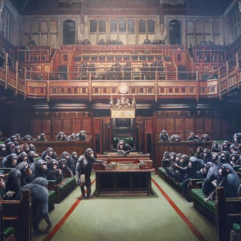 Things to do in Bristol - Bristol Museum _ Art Gallery Banksy CREDIT_ © Minka Guides