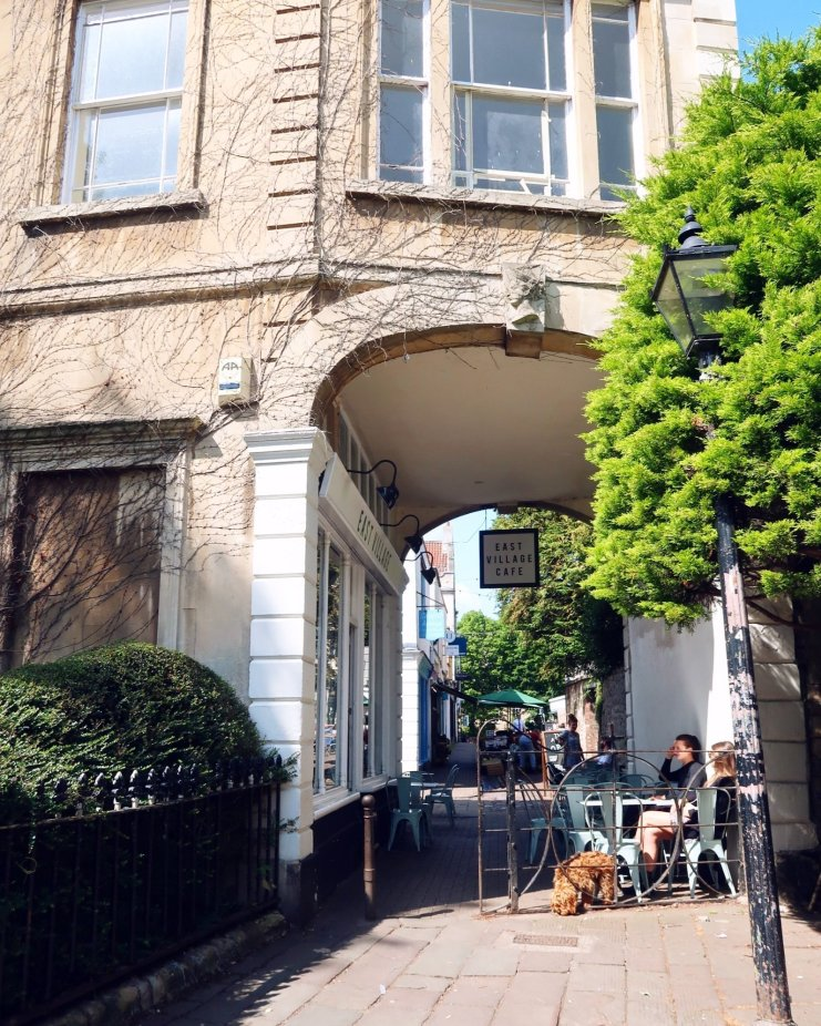 Things to do in Bristol - East Village Cafe exterior CREDIT_ © Minka Guides