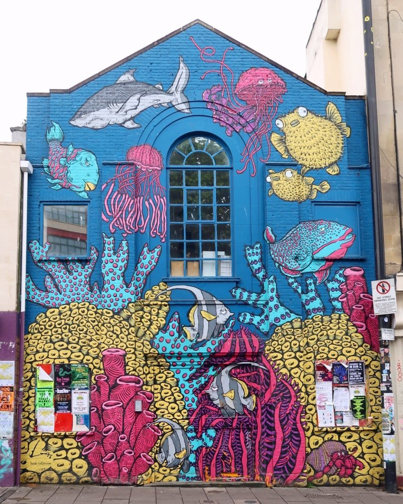 Things to do in Bristol - Stokes Croft street art CREDIT_ © Minka Guides