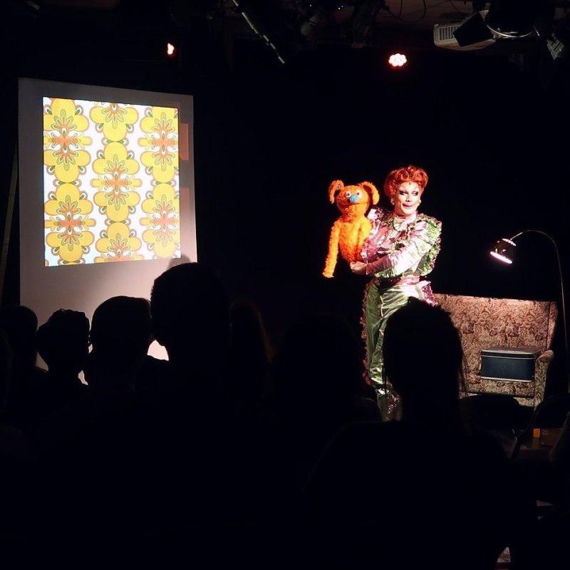 Queer Edinburgh Fringe Ginger Johnson's Happy Place CREDIT Minka Guides