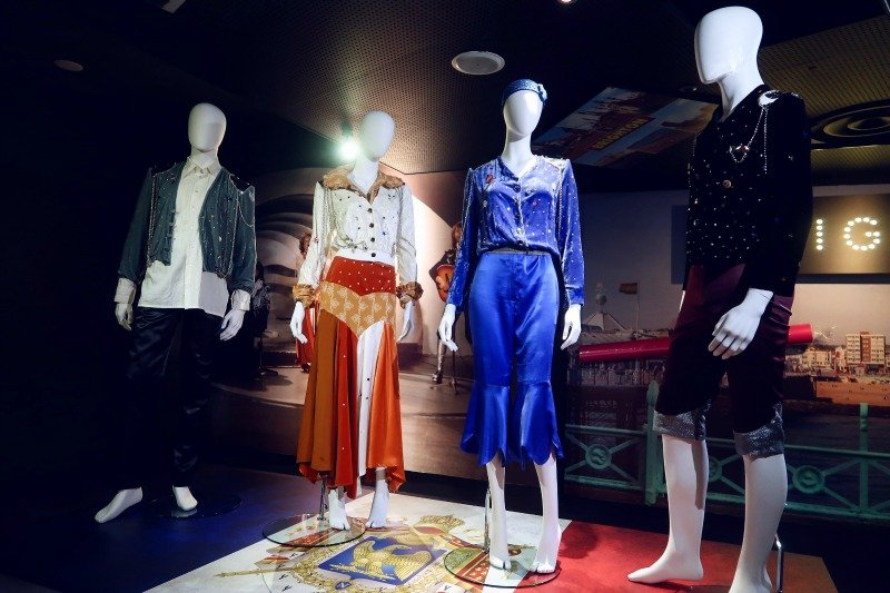 ABBA Super Troupers exhibition Waterloo costume CREDIT Minka Guides_picmonkeyed