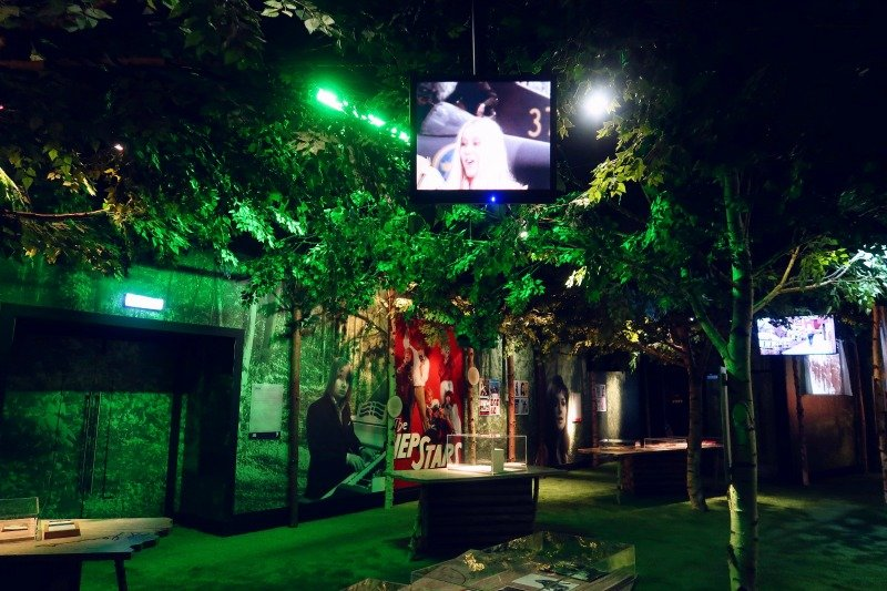 ABBA Super Troupers exhibition folk park room CREDIT Minka Guides_picmonkeyed