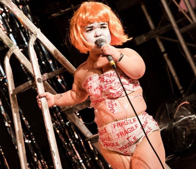UK queer hubs LGBT events Liverpool Tammy Reynolds AKA Midgette Bardot CREDIT Rebecca Connoly