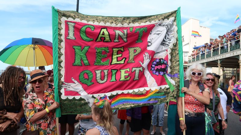 UK queer hubs LGBT events Margate Pride 2018 CREDIT Minka Guides
