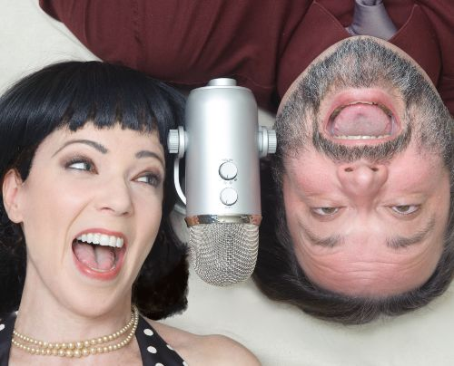 Polyamory podcasts Cunning Minx and Lusty Guy CREDIT Polyamory Weekly