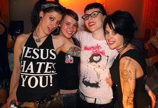 SuicideGirls Blackheart Burlesque - Odette, Tex, Fanny and Fractal Suicide CREDIT Tex Suicide