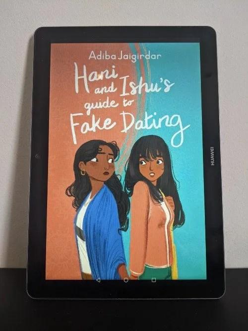 Queer books - Hani and Ishu's Guide to Fake Dating by Adiba Jaigirdar - CREDIT Minka Guides