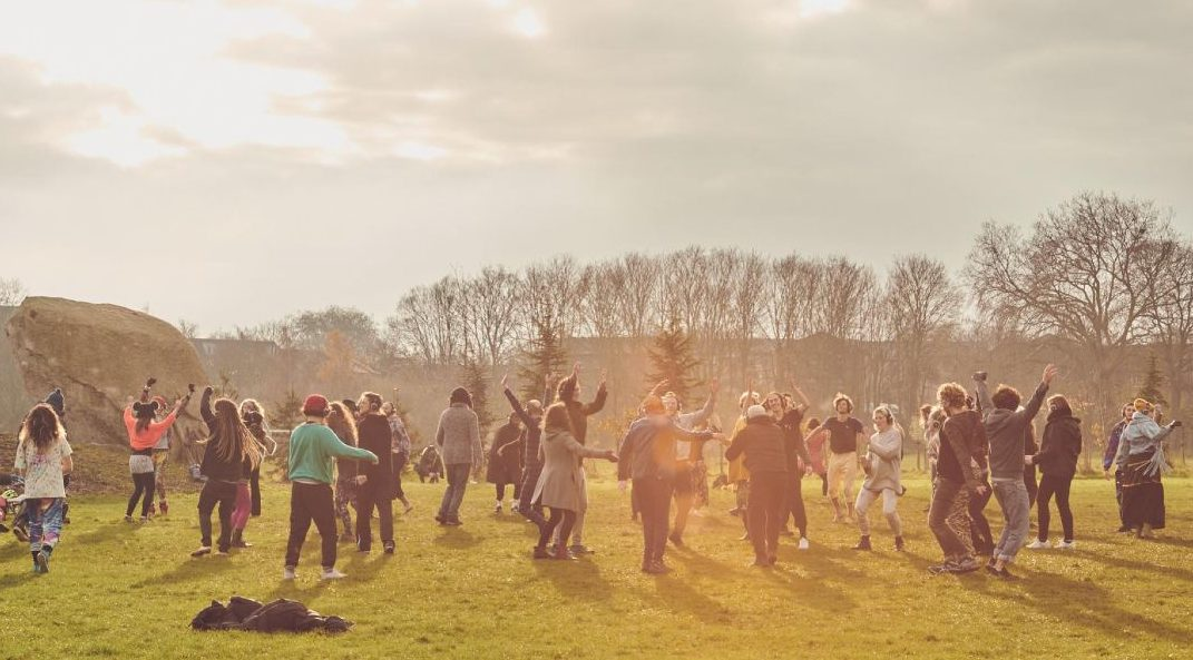 Spring in London - Ecstatic Dance BANNER CREDIT Ecstatic Dance UK