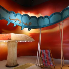 Exhibitions in London - Alice_ Curiouser and Curiouser at the V&A - catepillar CREDIT Minka Guides