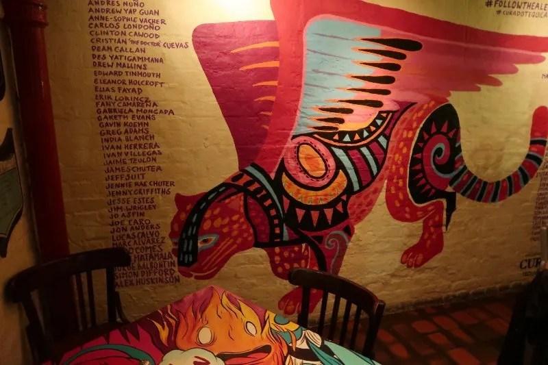 Mezcal London - Cafe Pacifico - restaurant art CREDIT Minka Guides