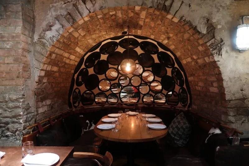 Mezcal London - La Bodega Nerga - downstairs CREDIT Minka Guides