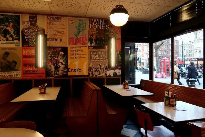 Mezcal London - La Bodega Nerga - upstairs bar CREDIT Minka Guides