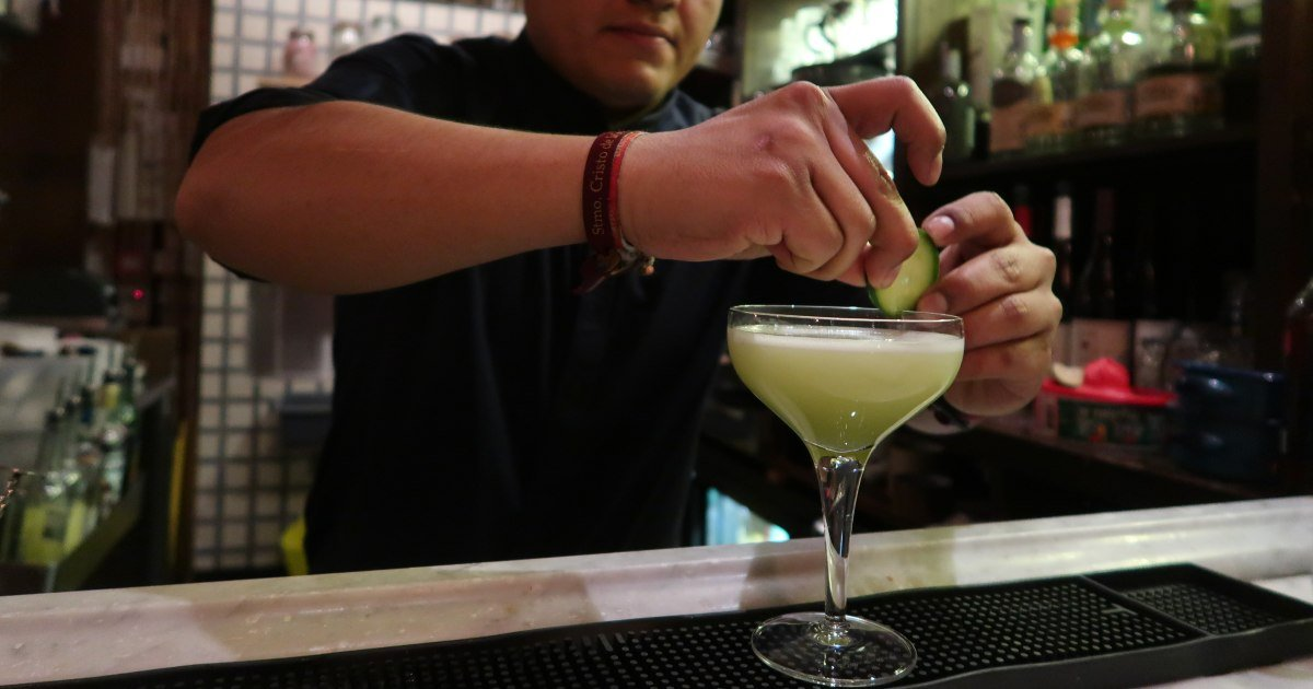 Mezcal London - Santo Remedio - Mezcalita Verde - share CREDIT Minka Guides