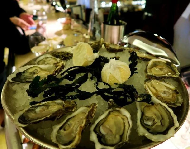 Oysters London J Sheekey Atlantic Bar CREDIT Minka Guides