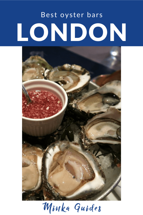 Oysters London   Minka Guides