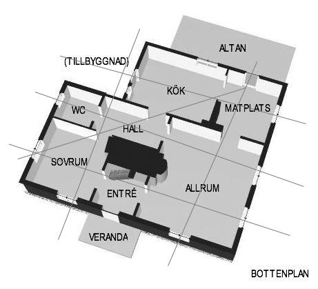 Klockaregården - planlösning