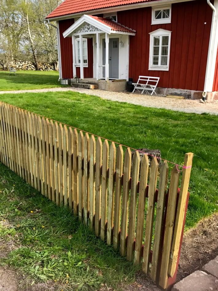 trädgården ramar staket