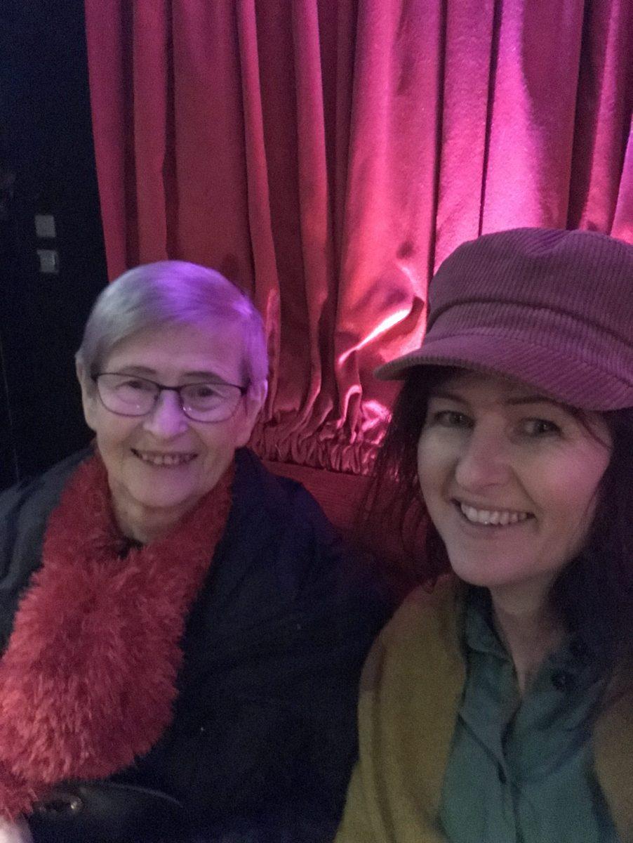 På show med min mor!