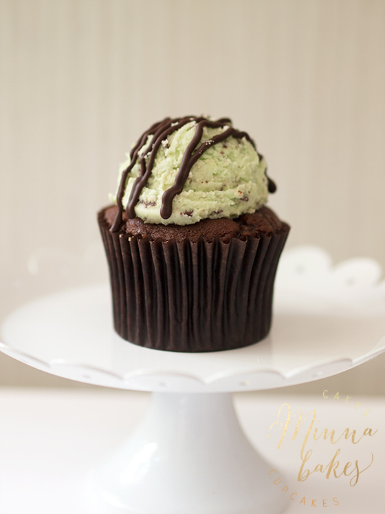 Mint ChocolateChip Cupcake Jyväskylä