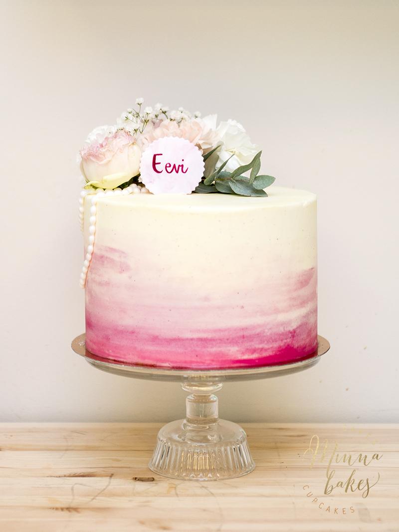 rippijuhliin kakku