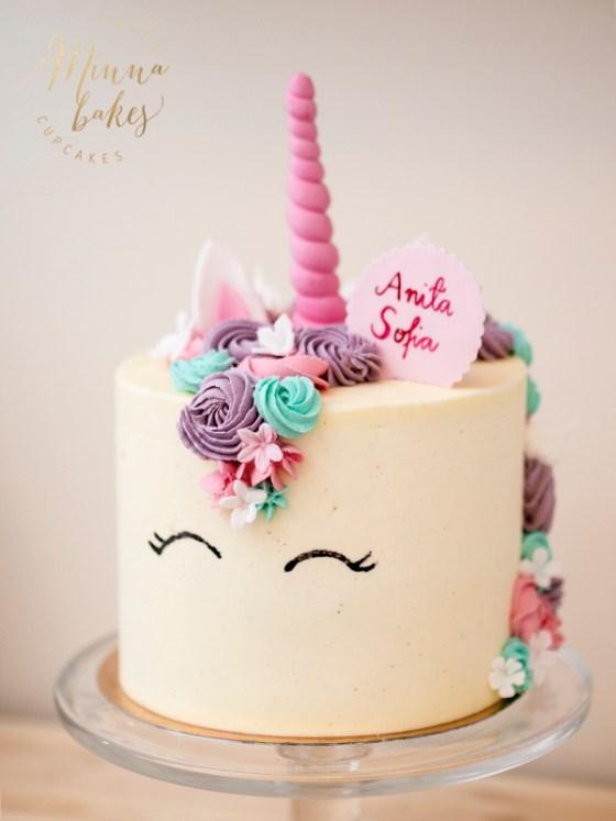 unicorn cake yksisarviskakku
