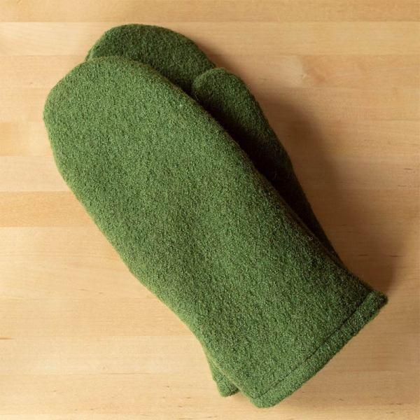 Vihreät vuorilliset villalapaset