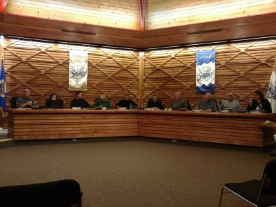 All 8 members of the Planning Commission   were on hand for Thursday nights meeting