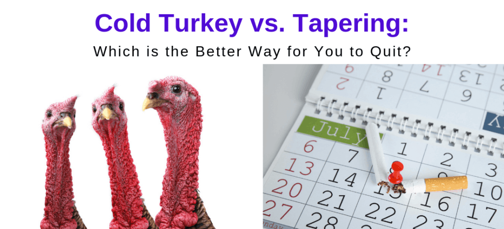 cold turkey vs tapering to quit smoking