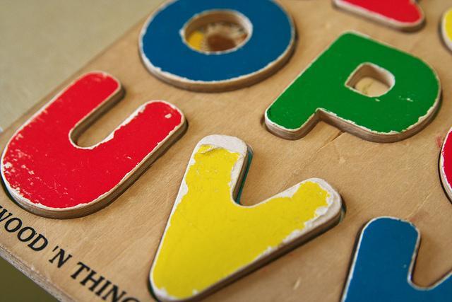alphabet thing
