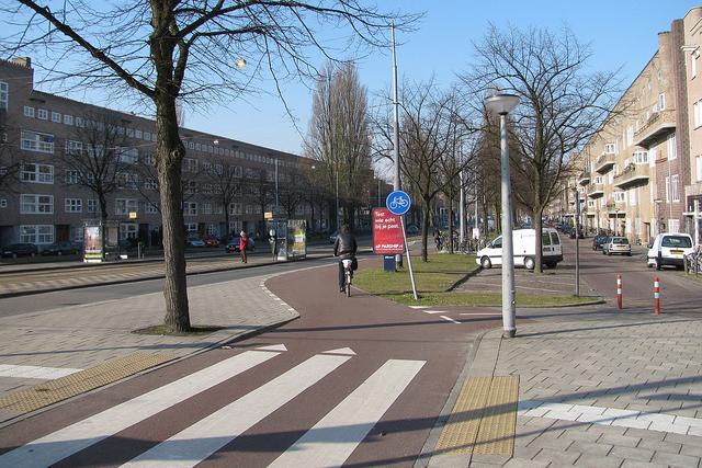 segregated bike path