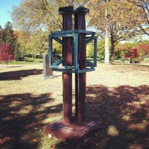 Nelson grave marker