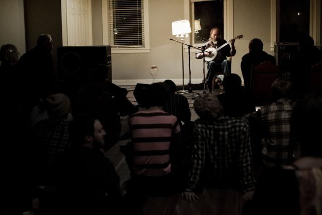 Charlie Parr plays the Chapel