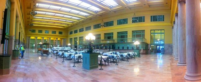 The renovated Union Depot