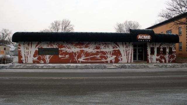 Richard Barlow's Powderhorn Park mural