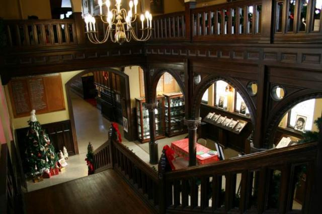 If one place captures the beauty of Shattuck, it would be the grand stairway in