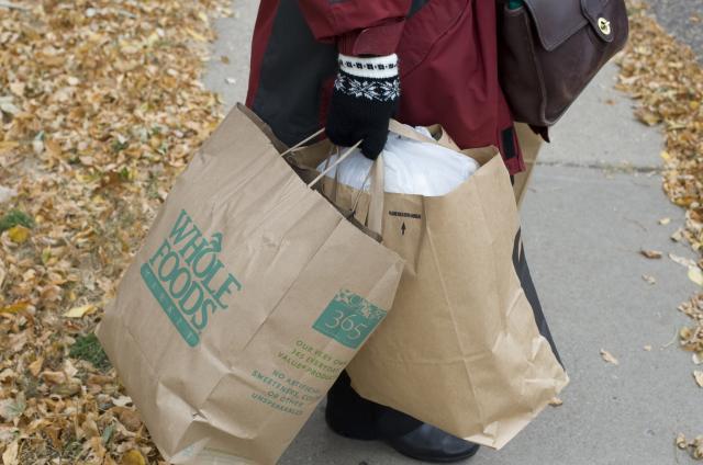 Kara with bags