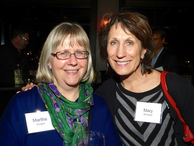 Martha Douglas and Mary Winstead