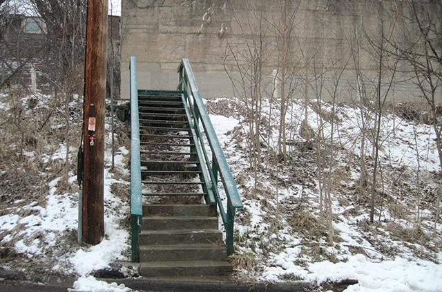 small staircase photo