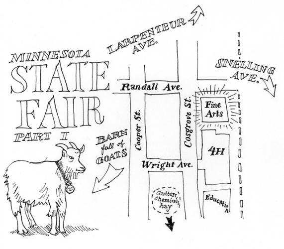 map of state fair