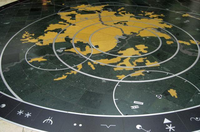 Floor mosaic at MSP