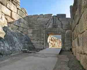 The Lion's Gate, Mycenae, Argolis, Greece