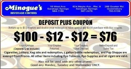 deposit coupon