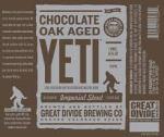 Great Divide Chocolate Oak Aged Yeti Image