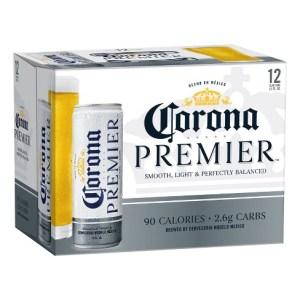corona premier 12pk cans
