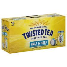 twisted tea half and half 18 pk