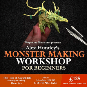 Workshop: Monster Making for Beginners @ MinorOak
