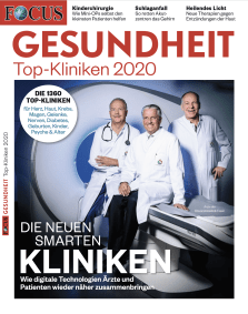 FOCUS Klinikliste 2020